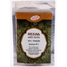 "Хна с травами для оздоровления волос ""Heena with herbs"" 100 г"